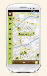Dog's Places Android Karte